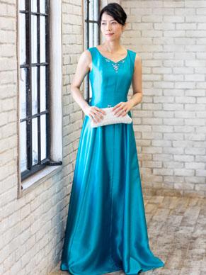 26bd0551faa1f 高級マキシ丈ドレス 1着
