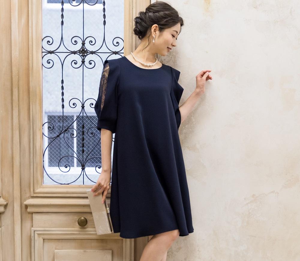 ドレスのカラーによってどんな風に印象が変わる? どんな肌色にどんな色が似合う?【ネイビー編】