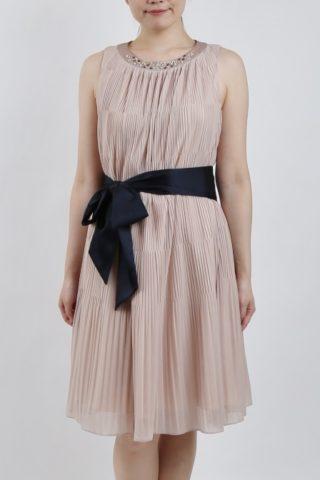 PREFERENCE PARTY'Sのリボン付きピンクドレス