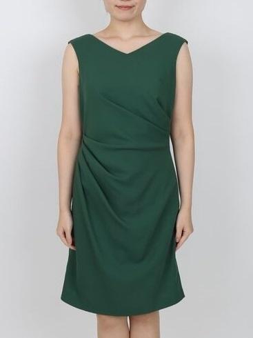 ビジューブレード付ドレス(フレッシュグリーン)