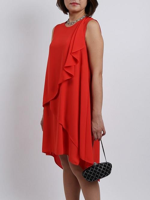 BCBGMAXAZRIA(ビーシービージーマックスアズリア)のビタミンカラーのドレス