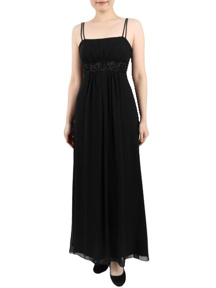 KIKIのキャミソールロングドレス
